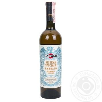 Вермут Martini Riserva Speciale Ambrato білий солодкий 18% 0,75л - купити, ціни на Novus - фото 1