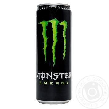 Напиток энергетический Monster Energy безалкогольный 355мл - купить, цены на Novus - фото 1