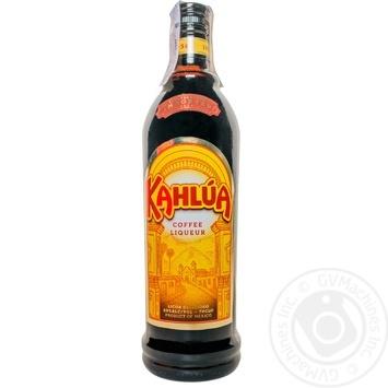Ликер Kahlua 20% 0,7л - купить, цены на Novus - фото 1