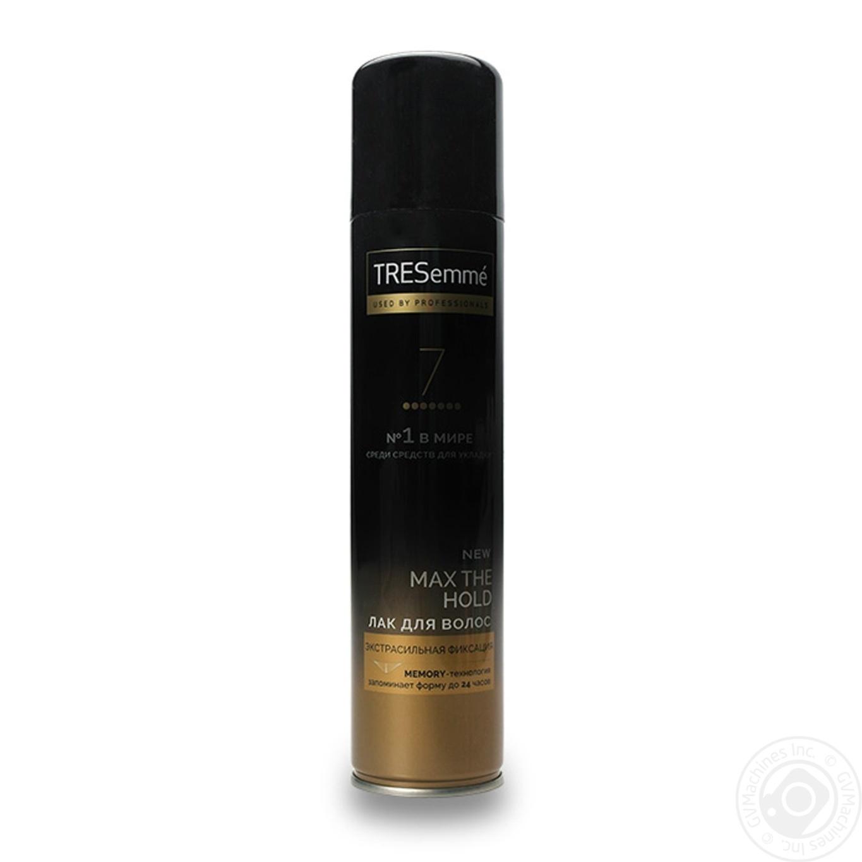 Купить 486, Лак для укладки волос Tresemme экстрасильная фиксация 250мл