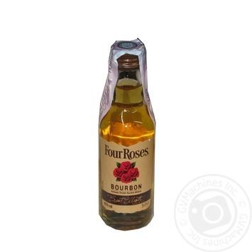 Виски Four Roses 40% 0.05л - купить, цены на СитиМаркет - фото 1