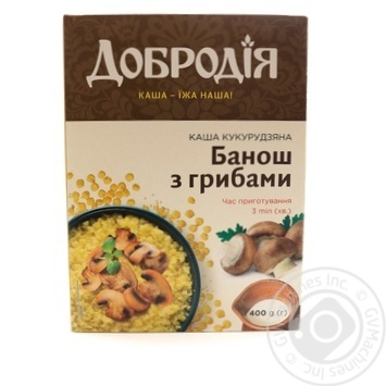 Pap Dobrodia corn mushroom ready-to-cook 400g