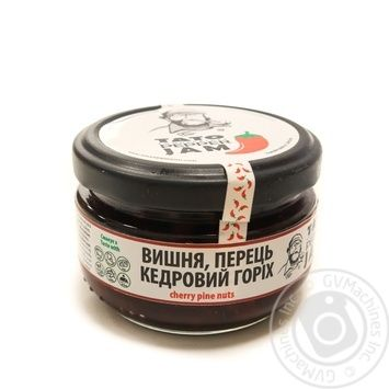 Sauce Tato pepper jam with pine nuts 130g glass jar - buy, prices for Novus - image 1