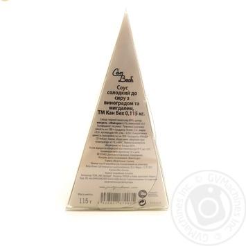 Соус Can Bech до сиру з винограду з мигдалем солодкий 115г - купити, ціни на Novus - фото 2
