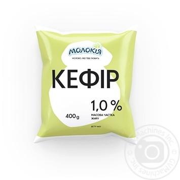 Кефир Молокія Сонечко 1% 400г