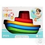 Tigres Little boat fr children toys set 4pcs