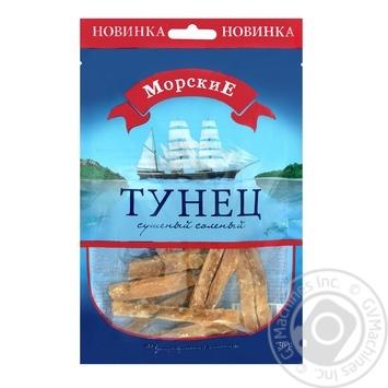 Тунец Морские сушеный соленый 36г - купить, цены на Фуршет - фото 1