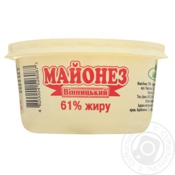 Майонез Авис Винницкий 61% 230г