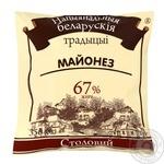 Майонез Национальная белорусская традиция Столовый 67% 350г