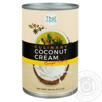 Thai Coco culinary coconut cream 400ml