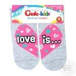 Conte-kids Funny Legs Light Gray Children's Socks 24s