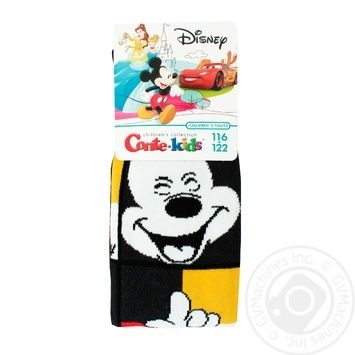 Колготы Conte Kids Disney детские черные размер 116-122