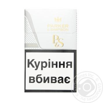 Сигареты Parker&Simpson Silver