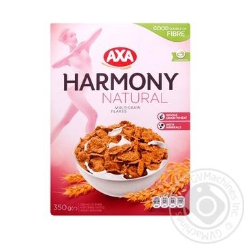 Пластівці мультизернові АХА Harmony Natural 350г