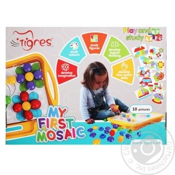 Tigres Educational Toy My First Mosaic - buy, prices for Tavria V - image 1