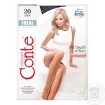 Tights Conte Ideal nero for women 20den 3size Belarus