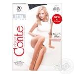 Колготки женские Conte Elegant Ideal 20 nero р.4 шт