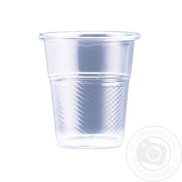 Plastic cup 100 pieces 180ml - buy, prices for Metro - image 1