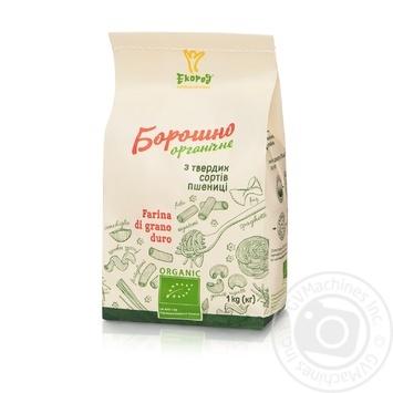 Борошно Екород з твердих сортів пшениці органічне 1кг - купити, ціни на Novus - фото 1