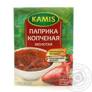 Приправа Kamis Паприка копченая молотая 15г - купить, цены на МегаМаркет - фото 1