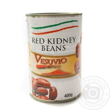 Vegetables kidney bean red sterilized 400g