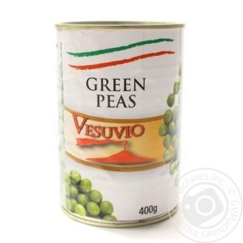Горошок зелений консервований стерилізований Fiamma 400 г