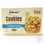 Печиво зі шматочками молочного шоколаду Falcone