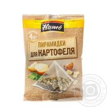 Суміш прянощів Картопля Hame в пакетиках-пірамідках 4х5г 20г