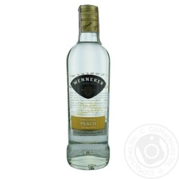 Напій Веннекер персик 20% 700мл скляна пляшка Голандія