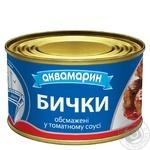 Бички Аквамарин обжаренные в томатном соусе 230г - купить, цены на Фуршет - фото 3
