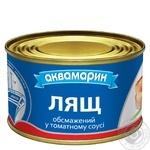 Лещ Аквамарин обжаренный в томатном соусе 230г