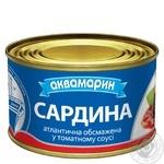 Сардины Аквамарин в томатном соусе 230г - купить, цены на Ашан - фото 2