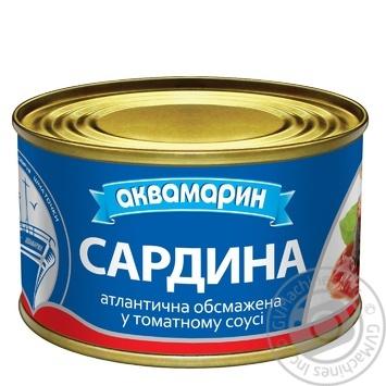 Сардины Аквамарин в томатном соусе 230г - купить, цены на Novus - фото 2