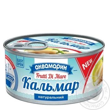 Кальмар Аквамарин натуральный 185г - купить, цены на Фуршет - фото 2