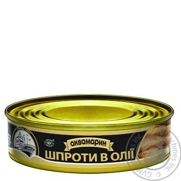 Шпроты Аквамарин в масле 150г - купить, цены на Фуршет - фото 3