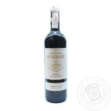 Chateau la Ribaud Crus Bourgeois Medoc red dry wine 13% 0,75l