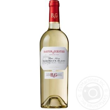Вино біле Бартон і Гестьє Бордо Блан виноградне сухе 12% 750мл