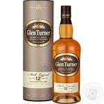 Glen Turner 12 yrs whisky 40% 0,7l