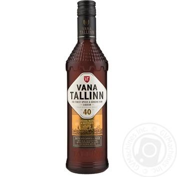 Ликер Vana Tallinn Original 40% 0,5л