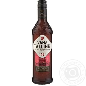 Ликер Vana Tallinn 45% 0,5л