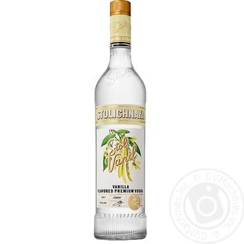 Stolichnaya Stoli Vanil vodka 37.5% 0,7l