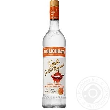 Stolichnaya Salted Karamel vodka 37,5% 0,7l