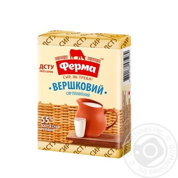 Ferma Processed Creamy Cheese 55% 90g - buy, prices for Furshet - image 1