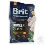 Brit Premium Adult M Food for dogs of average breeds 3kg