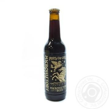 Пиво Microhistory Pupsy the Great темне 4,2% 0,33л