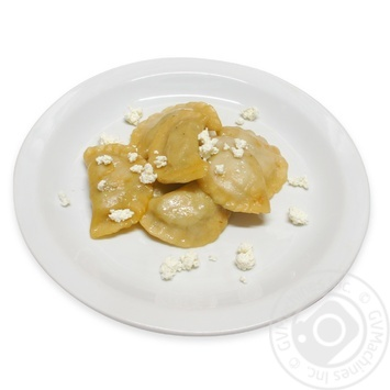 Boiled Dumplings with Cottage Cheese