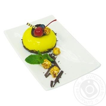 Пирожное груша-карамель - купить, цены на МегаМаркет - фото 1
