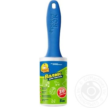 Валик для чищення Фрекен Бок з пластиковою кришкою 5м шт - купити, ціни на МегаМаркет - фото 1