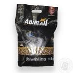 Наполнитель для лотка AnimAll древесный гранулированный 5,3кг