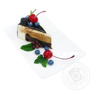 Торт вишня-шоколад